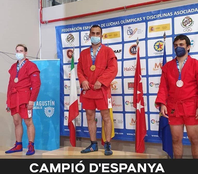 NIKA CHAKVETADZE CAMPEÓN DE ESPAÑA DE SAMBO 2021
